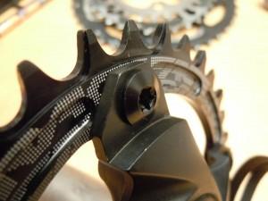 Shimano Kettenblattschrauben für 2fach Kurbel